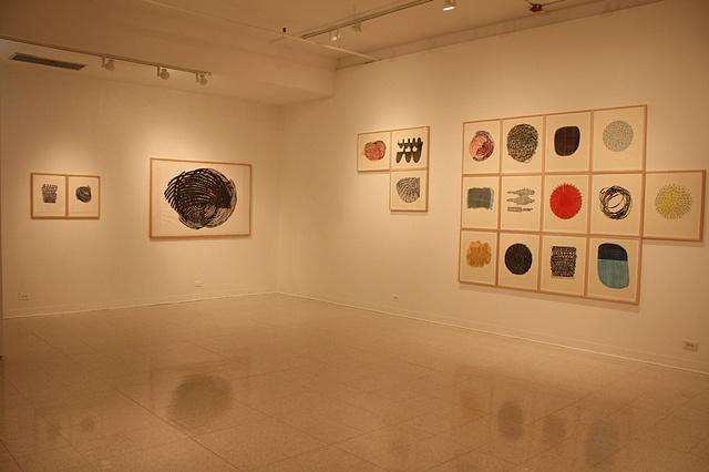 Installation view, Montserrat Gallery, 2009