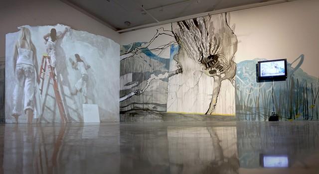 A Proper Erasure, Zsuzsanna Szegedi, installation view