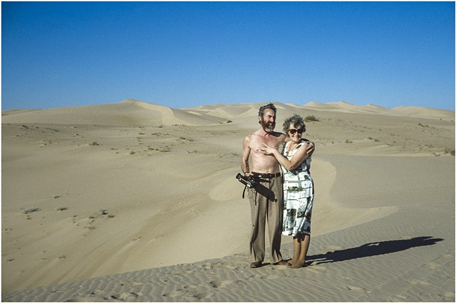 My Parents, Mohave desert, California