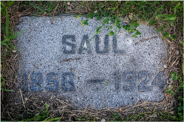 Saul Weiste's grave, (Nina's father) Finish Apostolic Lutheran Church, Brown County, South Dakota