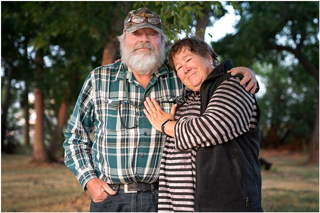 Stephen and Susie, Choteau, Montana