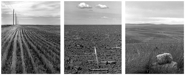 My first North Dakota landscape triptych