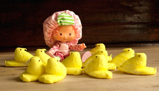 sitting with my peeps