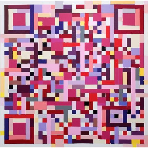 Kyle Trowbridge QR paintings art