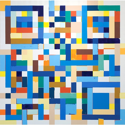 Kyle Trowbridge QR paintings art