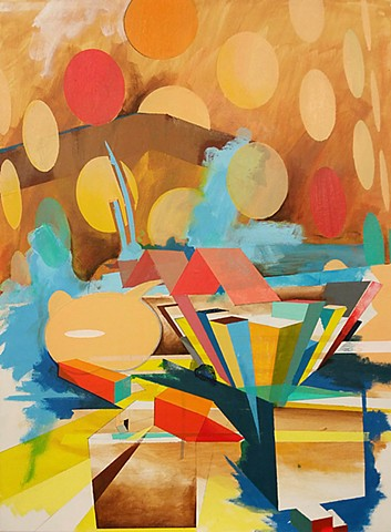 kyle trowbridge abstract painting miami artist