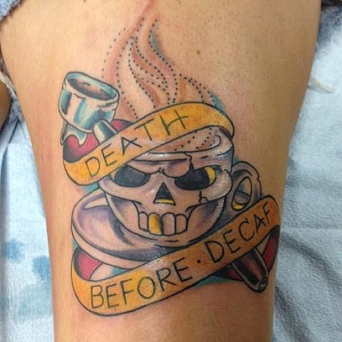 DEATH BEFORE DEFAF!