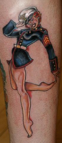 Chucky's Marine Girl