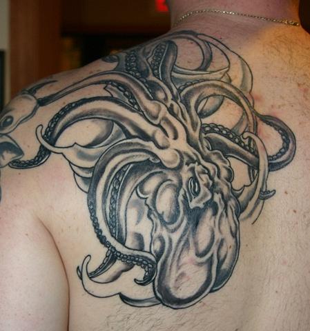 Gerry's Big Octopus