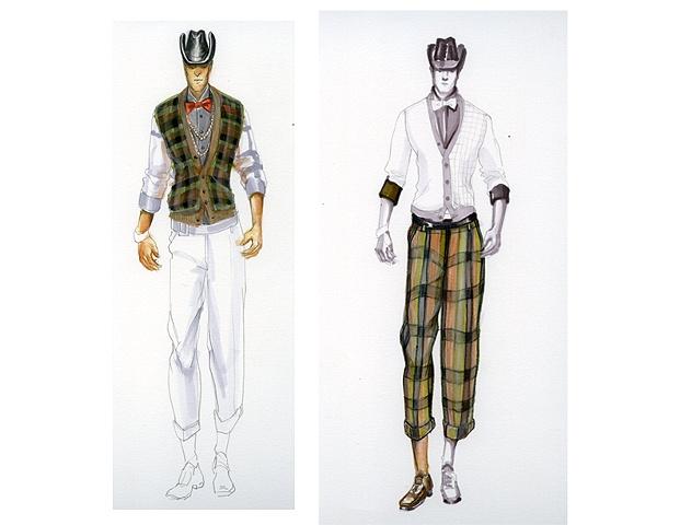 Rendering Plaid - Menswear