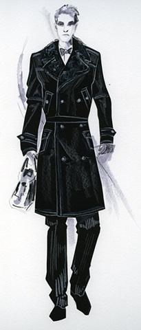 Black Rendering - Menswear