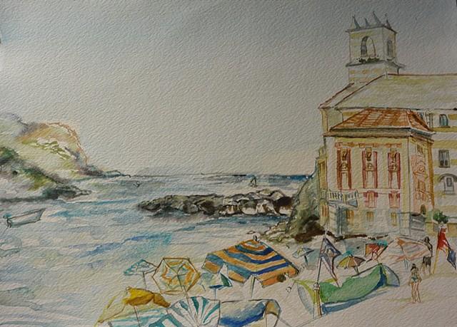 Beach Day at Sestri Levante