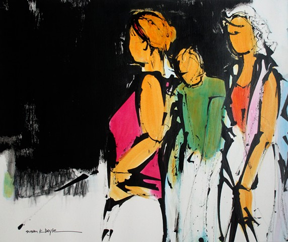 Figurative. Abstract. Modern, Expressive, Contemporary, Expressionism.