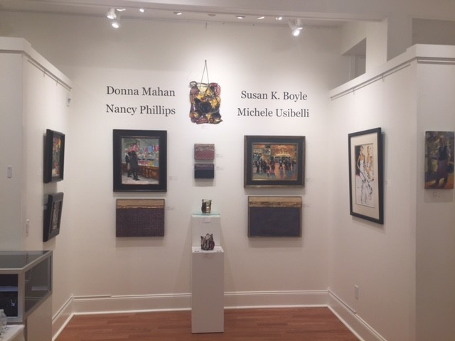 My art shown at Cortile Gallery in Provincetown, MA