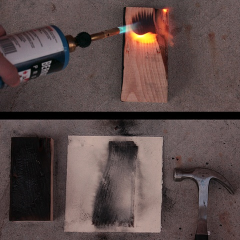 charcoal drawings, hammer, jason reno