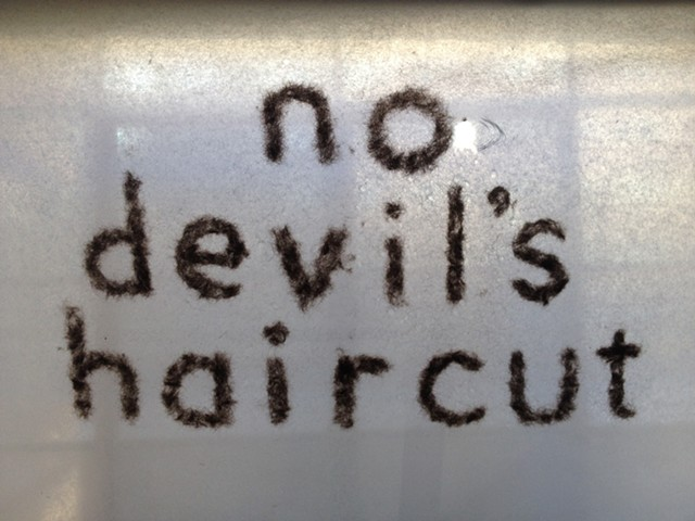 no devil's haircut