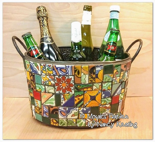 Talavera Beverage Tub