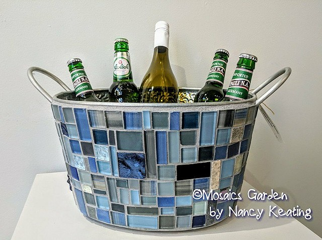 Mosaic Beverage Tub SOLD