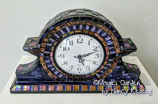 Van Gogh Mantel Clock SOLD