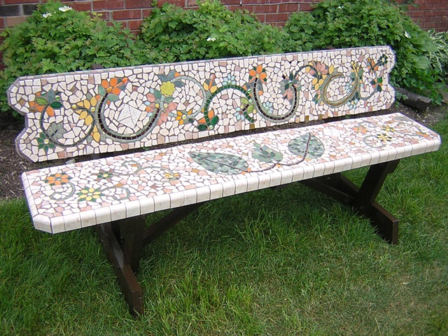 Vinery Finery Bench