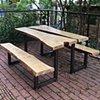 Custom built benches for local Durham gardening teaching center, SEEDS.