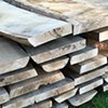 Oak slabs for SEEDS benches.