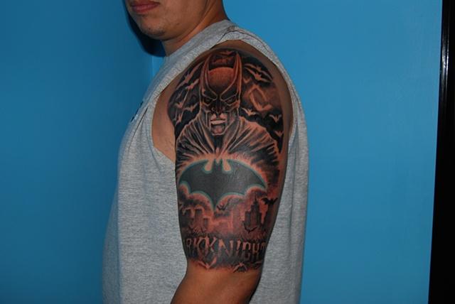 batman tattoo dave zobel