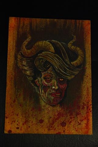 zombie demon girl