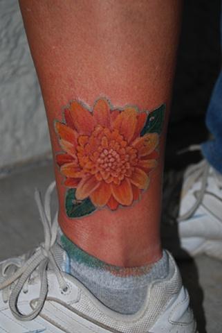 daisy tattoo dave zobel