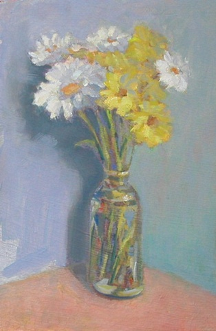 Daisies 12x8 (sold)