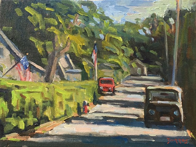 Morning Light (Nantucket), 9x12