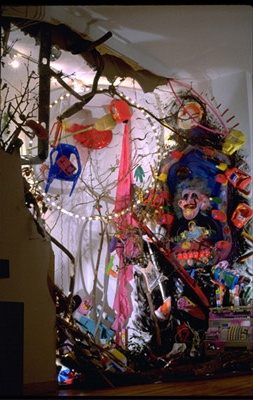 Neo Nuky Madonna  Gallery Installation Emil Leonard Gallery Soho, NY