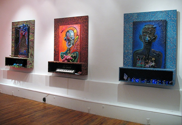 Lamed Vav Gallery view (Lamed Vav series)  FusionArts Museum, Lower East Side, NY