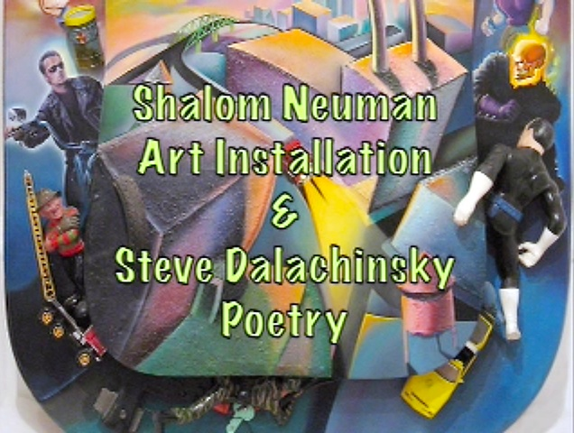 Steve Dalachinsky poetry for Toxic Paradise Installation