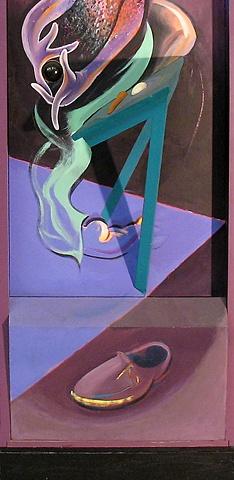 Fusion Caskets (1972 - 1984)  detail (panel #3)
