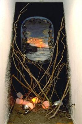 Toxic Paradise Installation  Emil Leonard Gallery Soho, NY