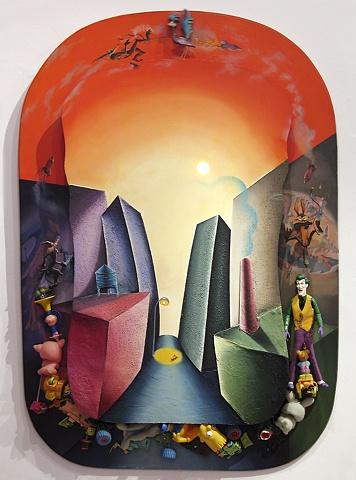 Toxic Paradise series, Shalom Neuman