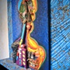 Lamed Vav Window Installation (close-up)  FusionArts Museum, Lower East Side, NY