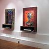 Lamed Vav Gallery view (Lamed Vav series)  FusionArts Museum, Lower East Side, NY