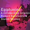 Epiphanies -  A collaboration between Richard Kostelanetz and Shalom Neuman