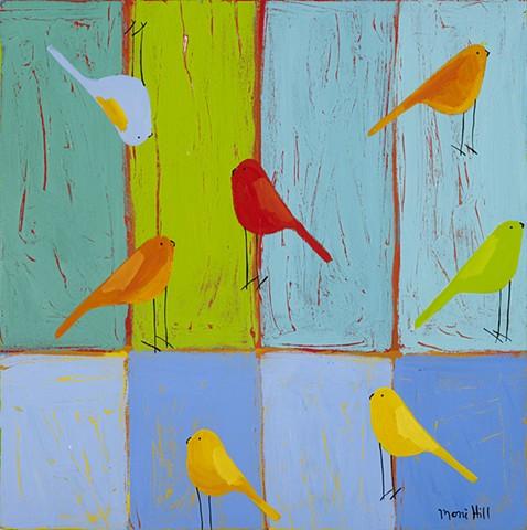 A Sprinkling of Birds