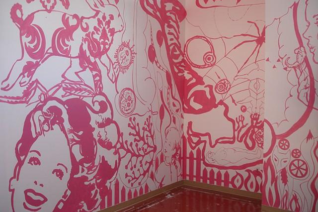 Mural, View 1