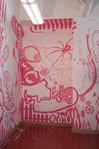 Mural, view 2