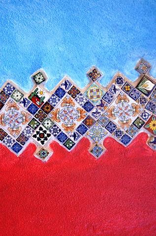 Tiled Wall Todos Santos Baja California