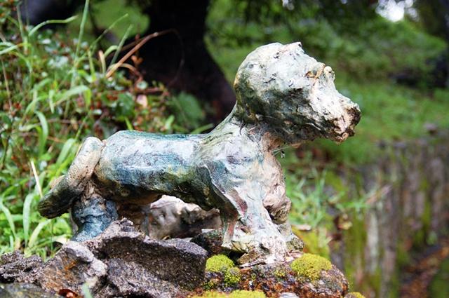 Puppy art Berkeley hidden gems