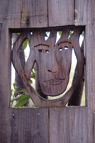 Fence on San Ramon (Face)