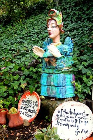 Buldan Seka Ceramic Figure and Plates