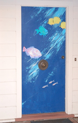 Aquarium Door