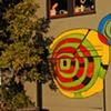 Garage Door Circles, Scenic at Cedar