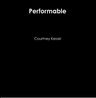 Flip book by Courtney Kessel, performance art, Performable